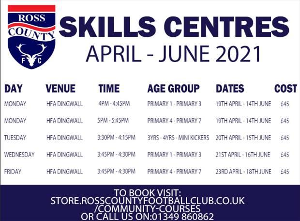 Dingwall Skills Centres - Apr-Jun 2021
